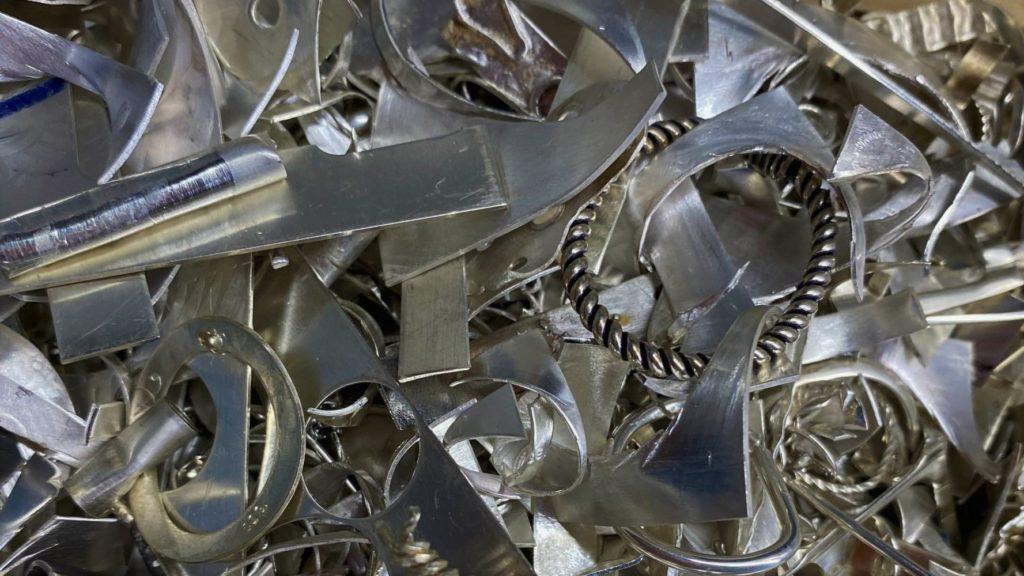 продать лом серебра