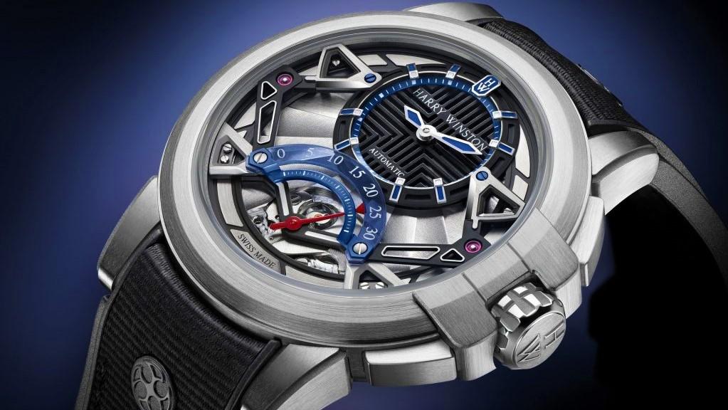 продать часы Harry Winston
